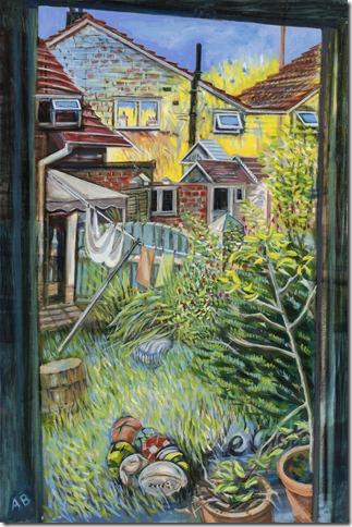 Anna Bisset painting