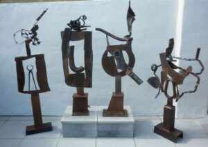 Guy Thomas-Sculptures-Forged Steel