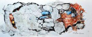 Simon Ward-Coast Path -Pencil and watercolour
