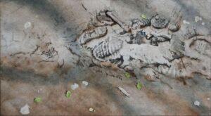 Simon Ward-Kelston Roundhill, Bath -Watercolour