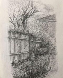 Viv Oxley -Easter Break- Pencil