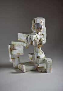 Richard Crooks-Still in that place-Fired Ceramic With Acrylic
